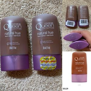 COVERGIRL Makeup - Covergirl queen collection natural hue Q745 new x2